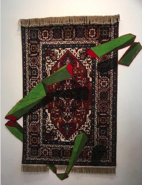 Exposition tissage tressage par Agneskye