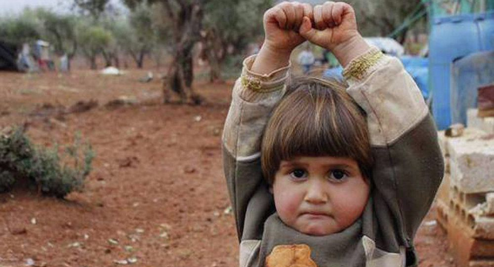La photo d'une fillette syrienne bouleverse le monde