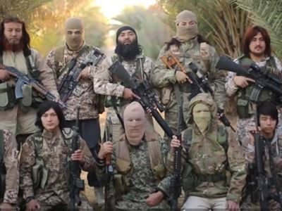 Jihadistes chinois ouïghours en Syrie.