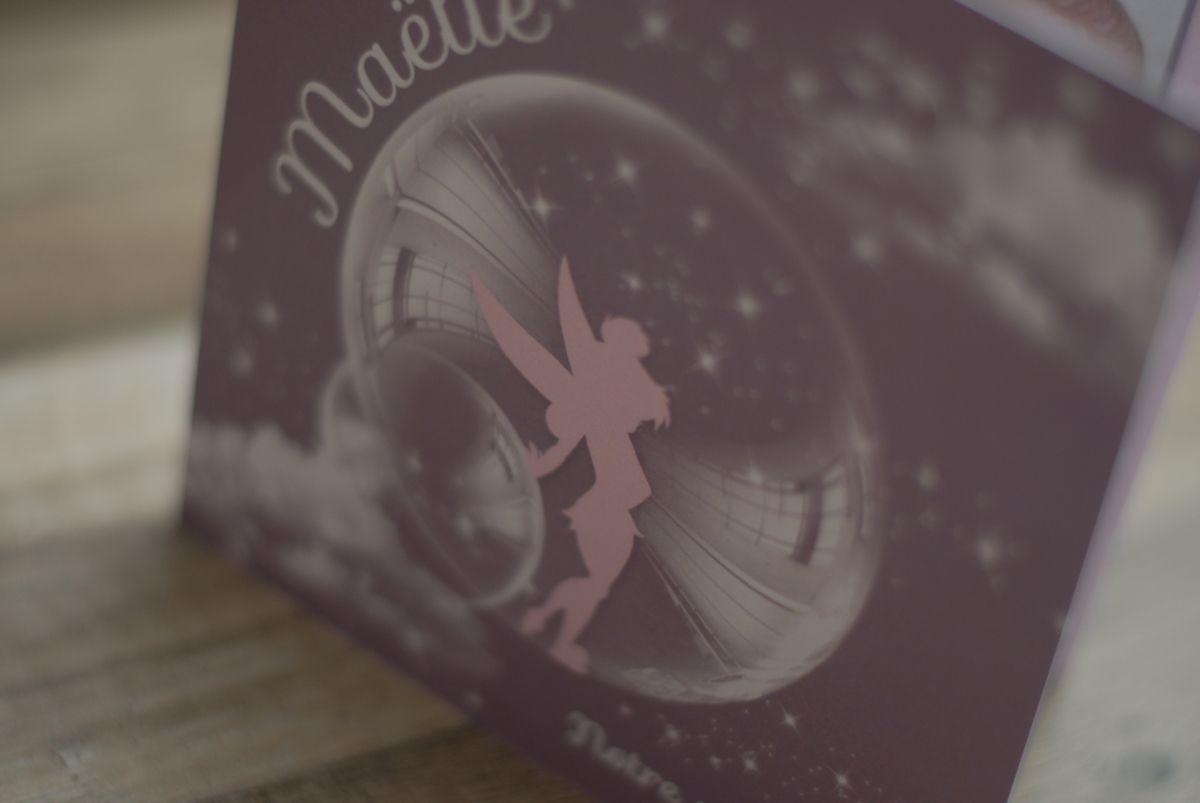 Le faire part de naissance de la petite Maëlle ...