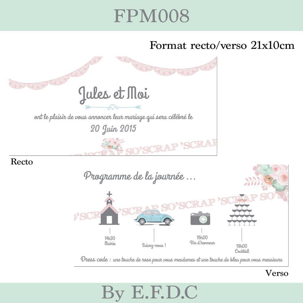 faire part mariage sur mesure, thème romantique, chic, floral, dentelle (digital), vintage, couleur pastel, vieux rose, scrap digital, renoncules,