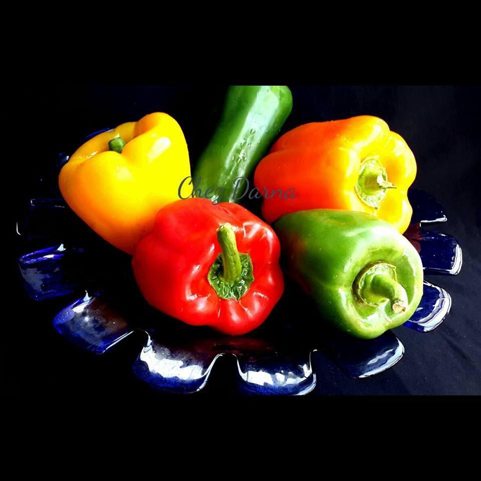 congélation des poivrons colorés طريقة تجمبد الفلفل الملون