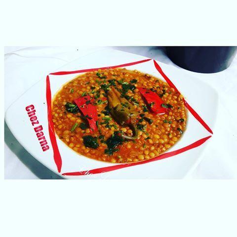 عدس على الطريقة المغربية lentilles à la marocaine