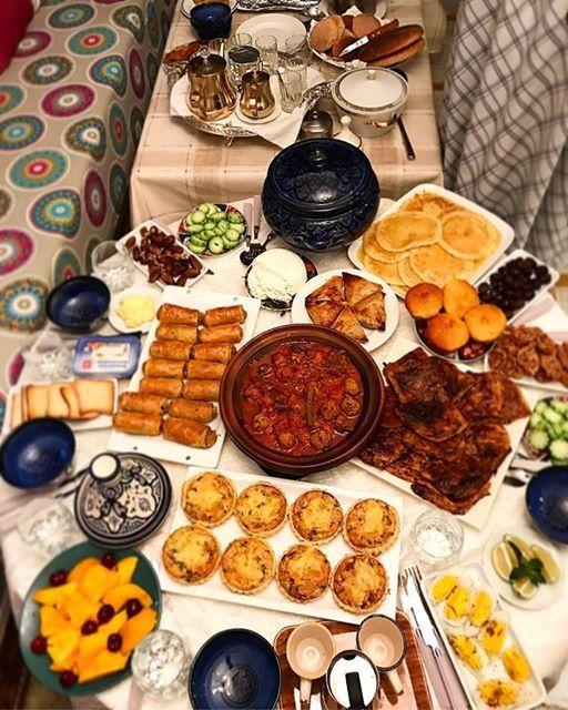 quelques idées pour les tables de ftour ramadan 2017 بعض الافكار لمائدة الافطار رمضان
