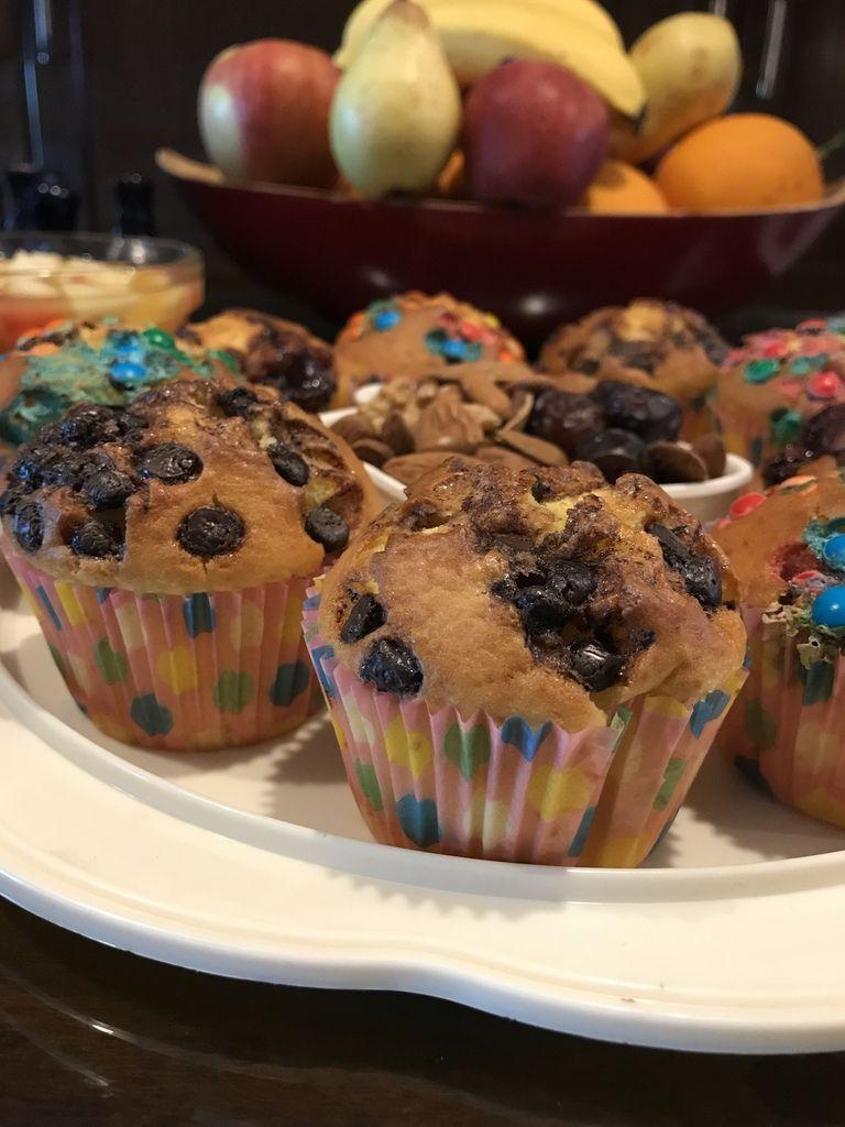 muffins ultra moelleux à l'orange  مافن بالبرتقال