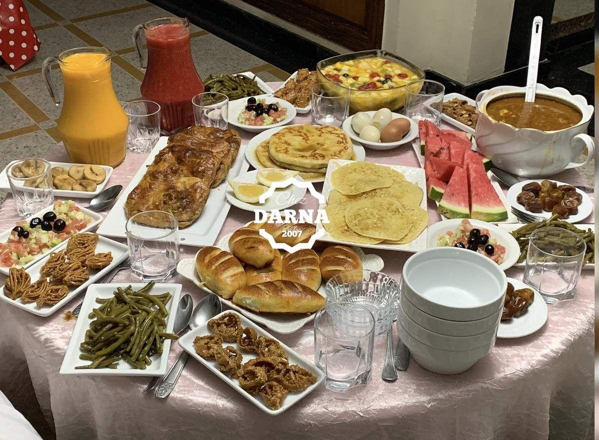 tables de ftour 2019 موائد الافطار