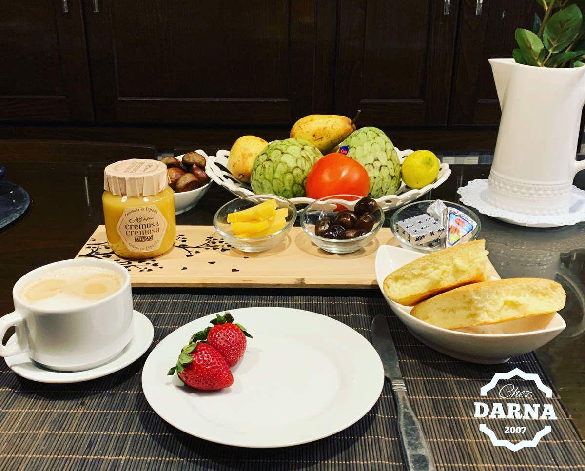 idées de présentation de petits déjeuner طرق تقديم للفطور