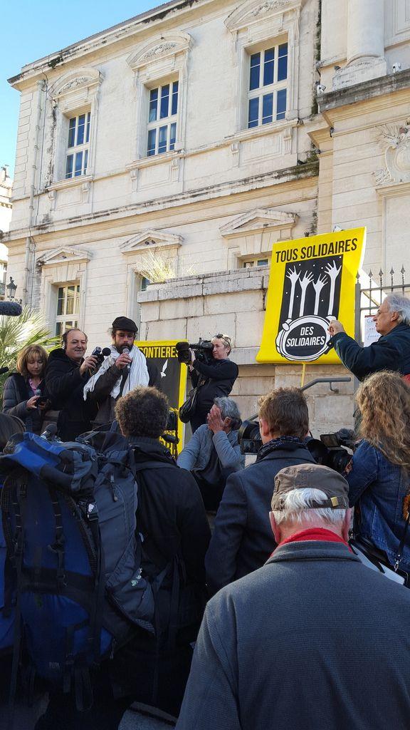 nouveau procès, nouveau rassemblement de solidarité