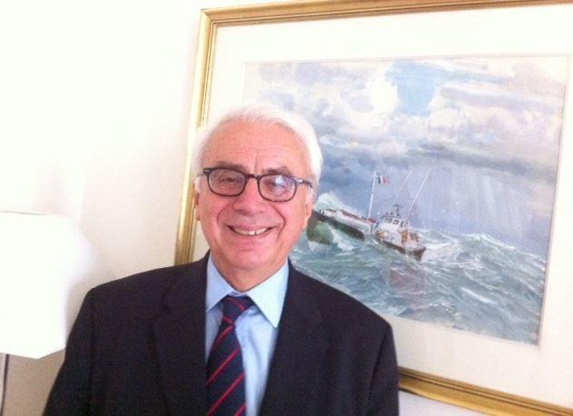 Xavier de la Gorce, président de la SNSM
