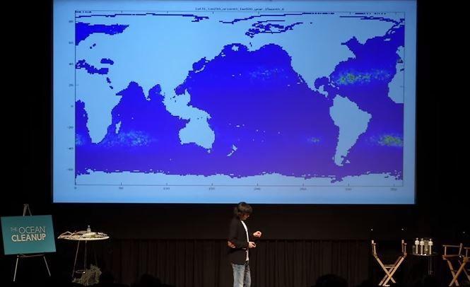 Vidéo - 500 000 dollars récoltés par le jeune nettoyeur d'océans néerlandais