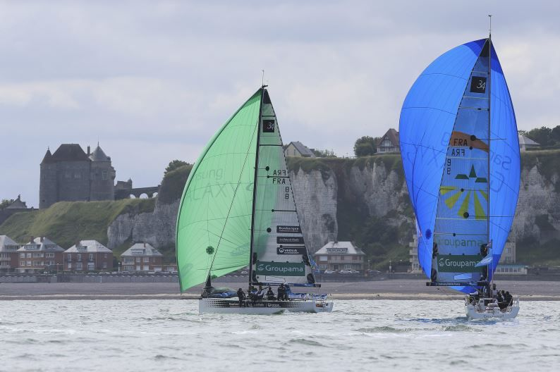 Le Tour de France à la Voile à Dieppe - photos : JM Liot