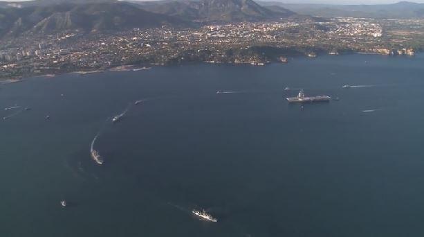 VIDEO - la revue navale du 15 août, comme si vous y étiez