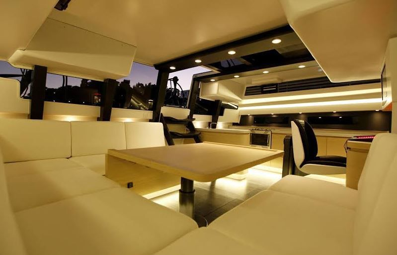 Trois maisons françaises de la décoration de luxe font stand commun au Monaco Yacht Show