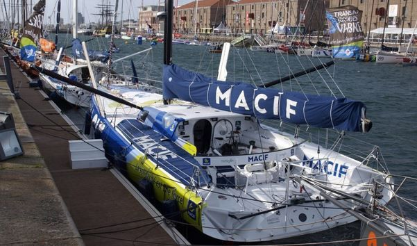 Imoca 60 Macif - photo : JM Liot