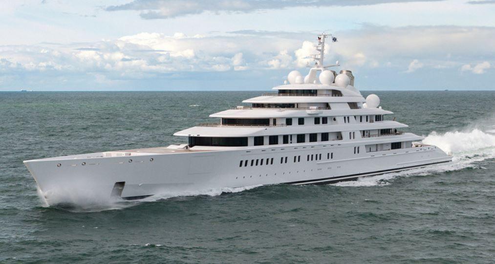 Azzam, le N°1 de notre TOP 10 des plus grands yachts du monde !