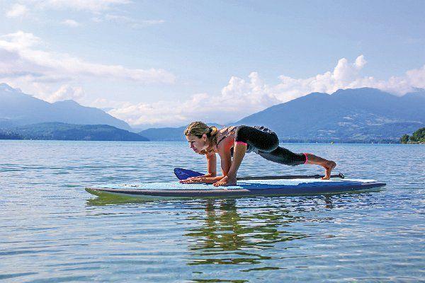 Grand Pavois - le SUP-Yoga, une nouvelle discipline à découvrir à La Rochelle
