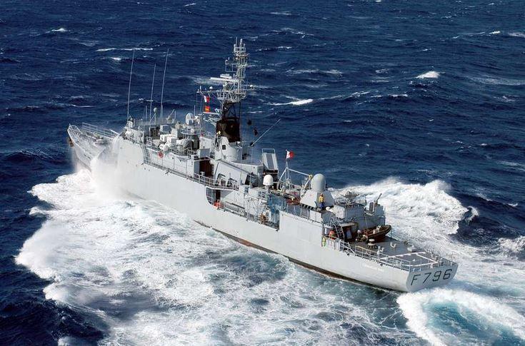 L'aviso Commandant Birot, actuellement déployé en Mer Noire