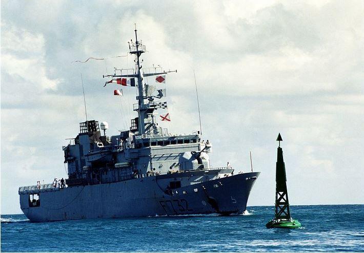 Grave incendie à bord d'une frégate de la Marine Nationale