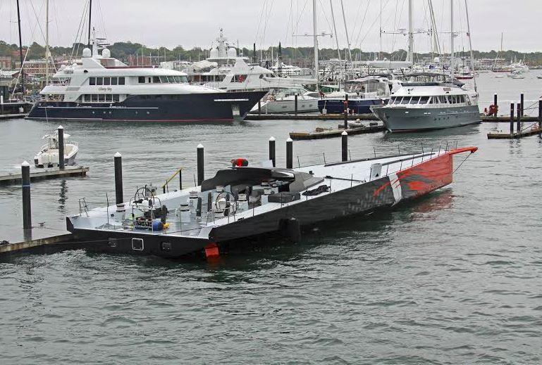 VIDEO - lancement d'un voilier historique aux Etats-Unis
