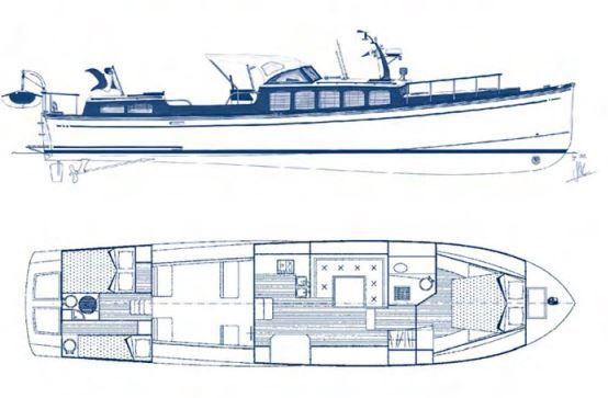 Andreyale 15, le yachting classique à la française