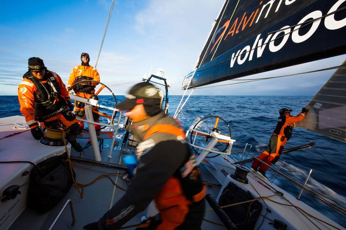Volvo Ocean Race - l'arrivée au Cap prévue à midi