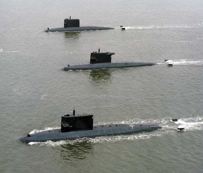 3 des 4 sous-marins néerlandais de classe Walrus - photo : Marine Royale des Pays-Bas