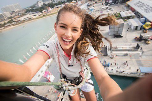 Rolene Strauss sur Team Dongfeng - photos : Rolene Strauss et Team Dongfeng