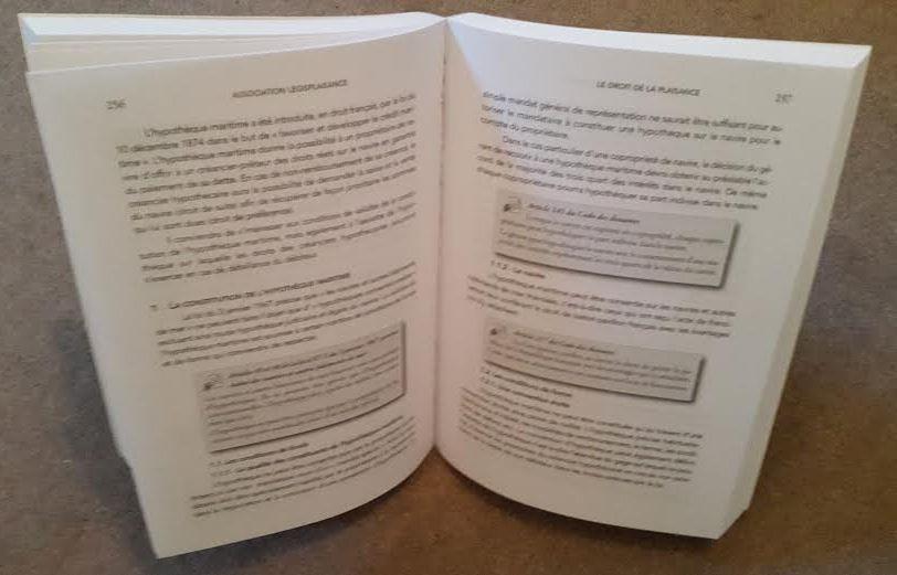 Nouveau, le droit de la plaisance, expliqué en 50 fiches et... 510 pages !!