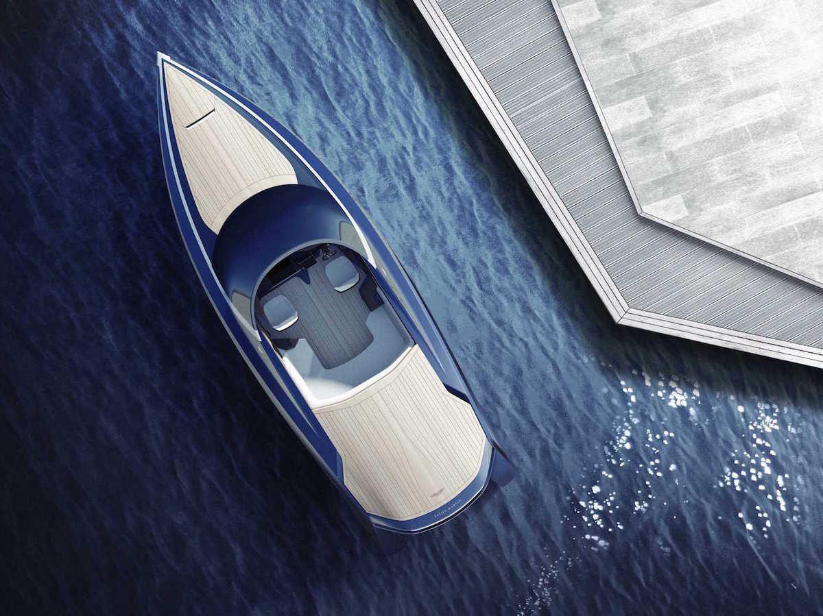 Le premier yacht Aston-Martin dévoilé au Monaco Yacht Show