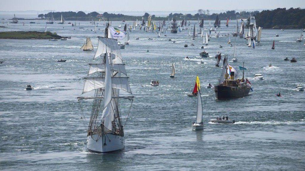 La patrimoine naviguant a rendez-vous dans le Golfe du Morbihan, du 11 au 17 mai