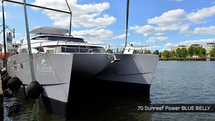 Sunreef Yachts met à l'eau son tout premier 70 Sunreef Power de nouvelle génération