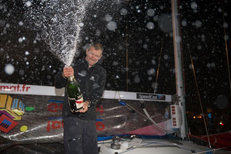 Solitaire du Figaro 2015 - Thierry Chabagny (Gedimat) remporte une première étape mémorable