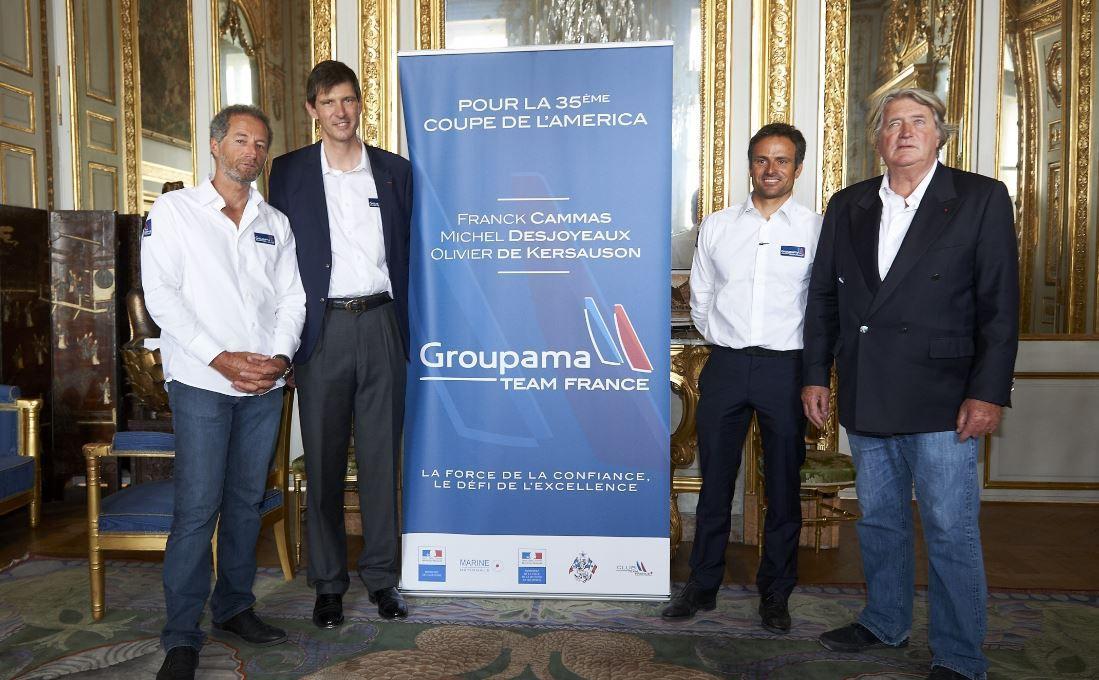 Groupama s'engage aux côtés de Team France dans la 35e Coupe de l'America