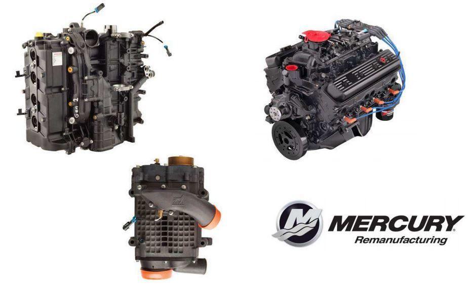 Les produits reconditionnés de Mercury Marine, les meilleurs prix et une garantie 1 an !