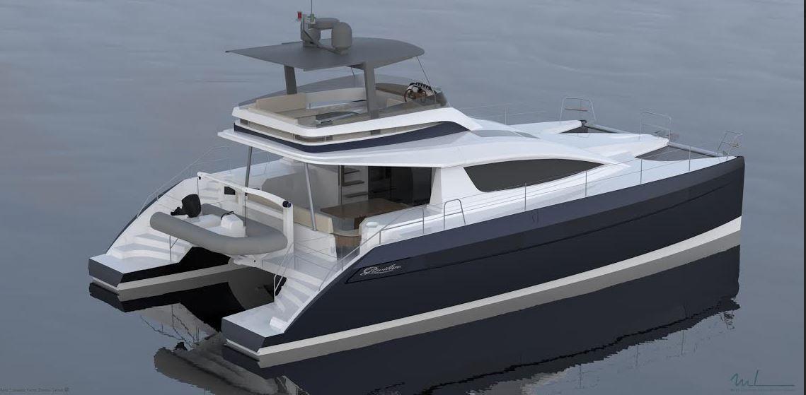 Scoop Yachting Festival - Privilège Marine lance un catamaran motoryacht, l'Euphoria 5