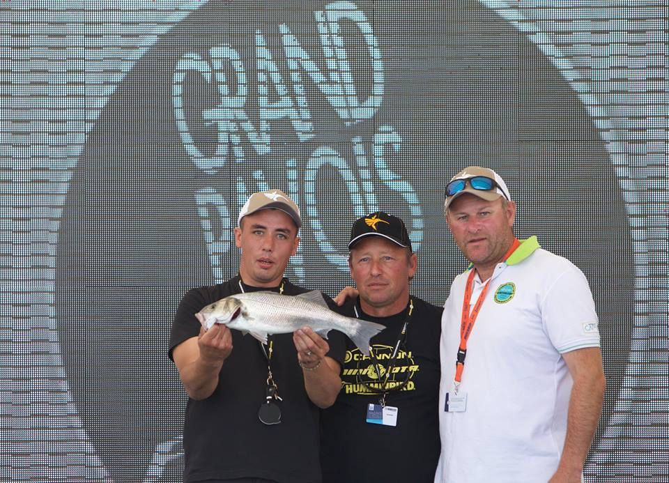 Romain Pappalardo et Xavier Rigolet, remportent le Grand Pavois Fishing 2015 sur Quicksilver Boats Mercury Marine Navicom Fishing.