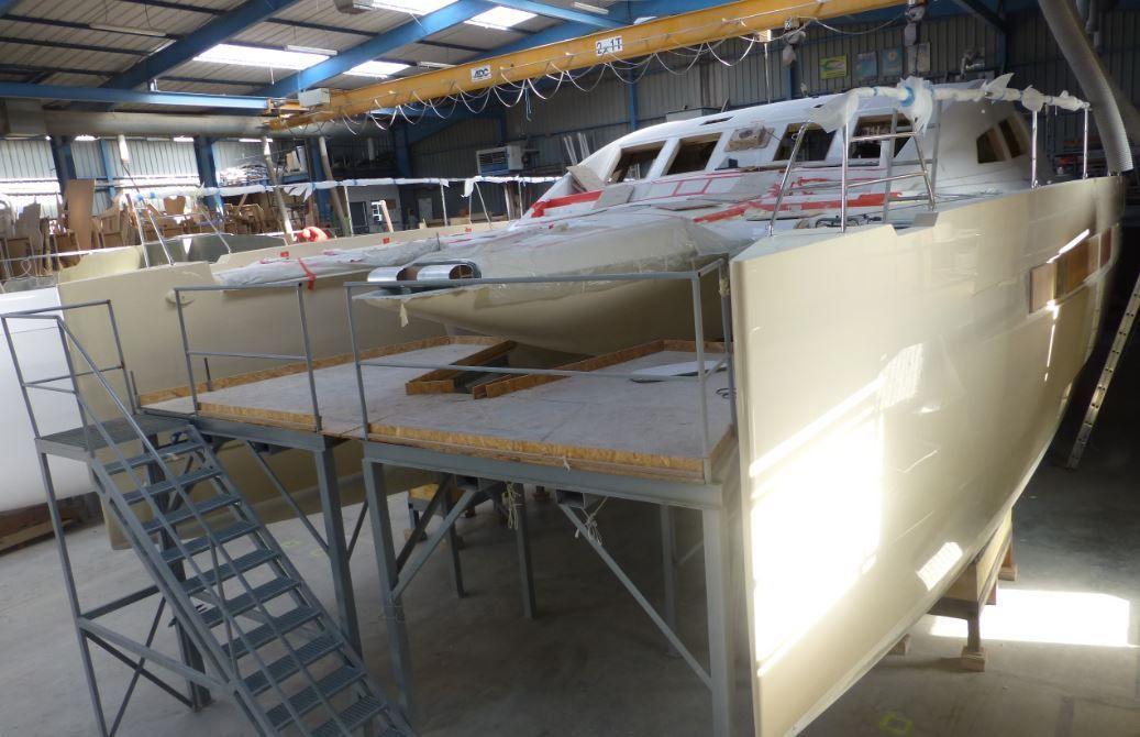 Déjà 3 unités vendues pour le nouveau catamaran Privilège Série 6