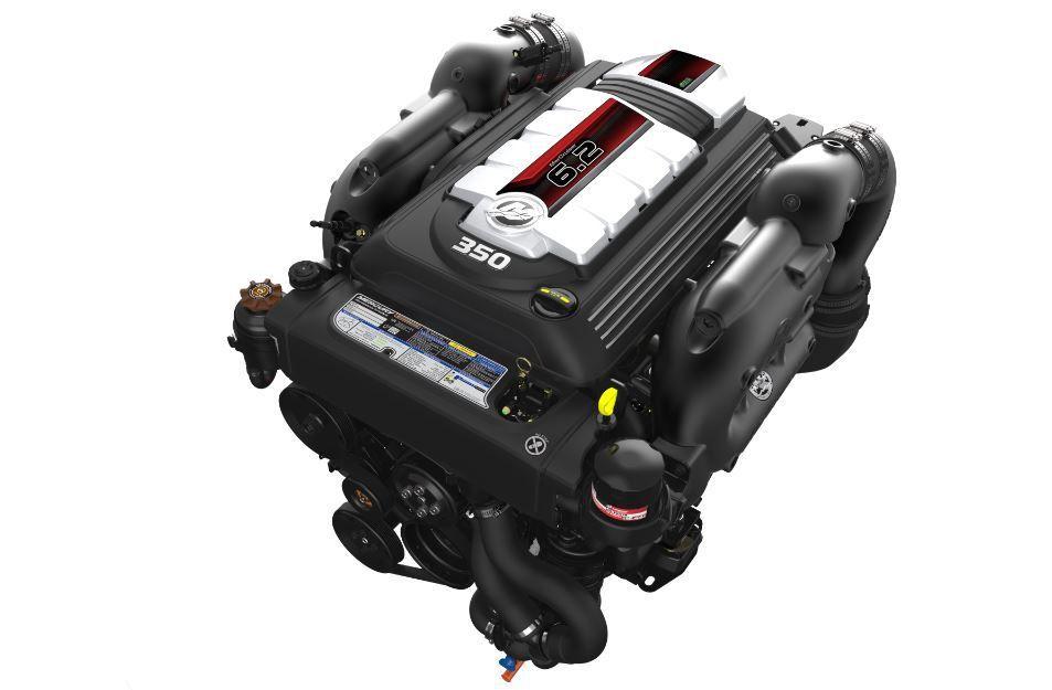 De la puissance à revendre pour le nouveau moteur Mercury MerCruiser 6.2l V8 !
