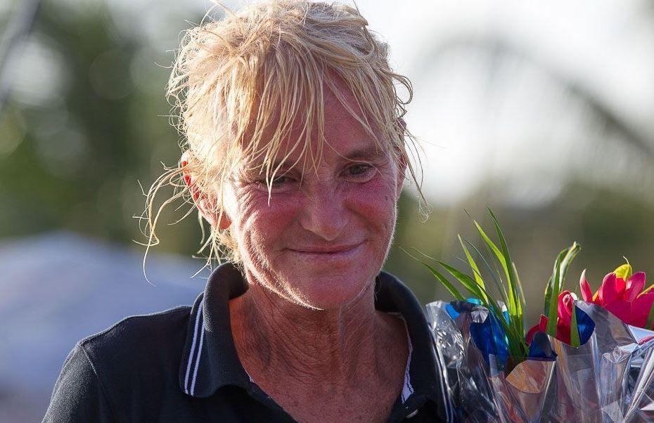 Anne Caseneuve remportait il y a un an tout juste la Route du Rhum