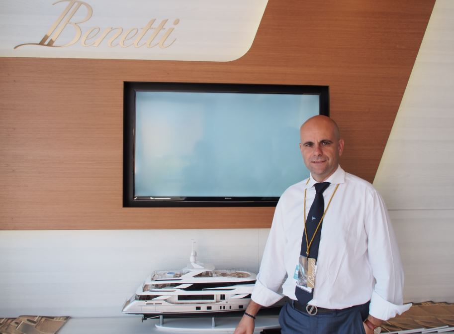 Fabio Ermetto, Chief Commercial Officer at Benetti