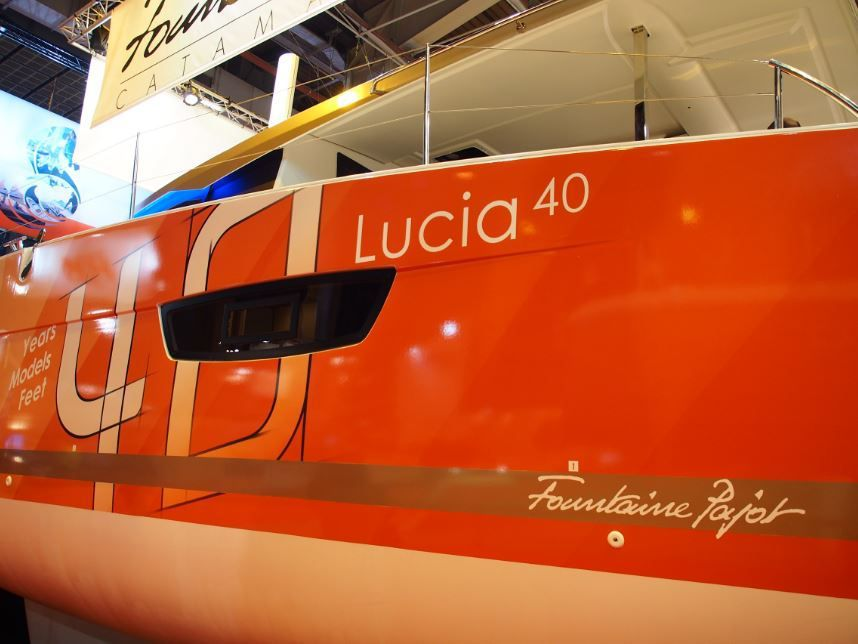 Au nautic de Paris, Fountaine-Pajot lance le Lucia 40