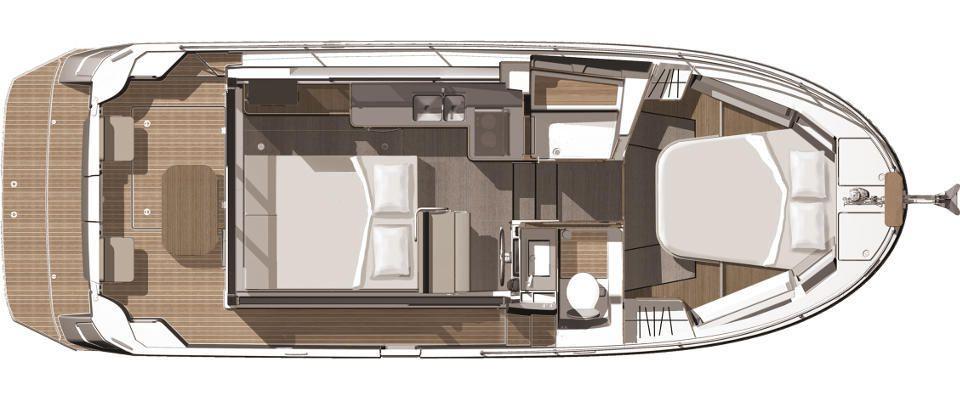Le Bénéteau Swift Trawler en versions 1 ou 2 cabines