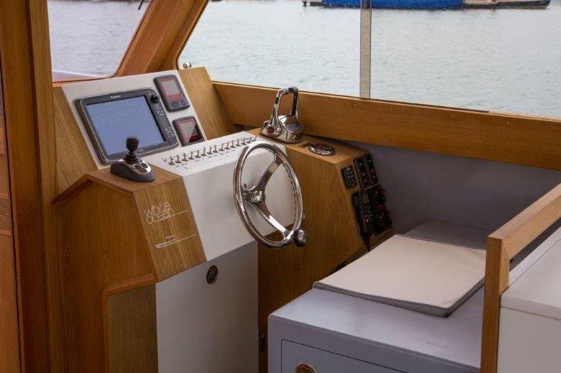 André Courrèges - en juillet dernier, Courrèges signait un bateau de luxe avec le chantier Dubourdieu (33)