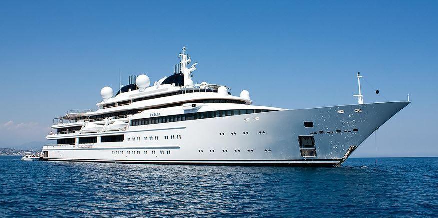 Super yacht Katara, de l'Emir du Katar