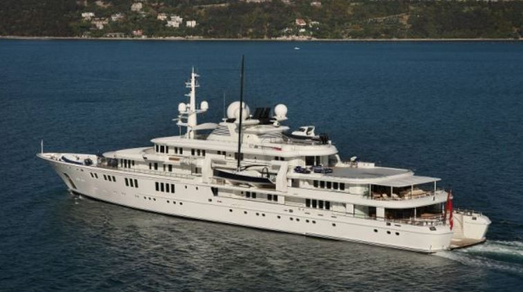Tatoosh, l'un des superyachts de Paul Allen