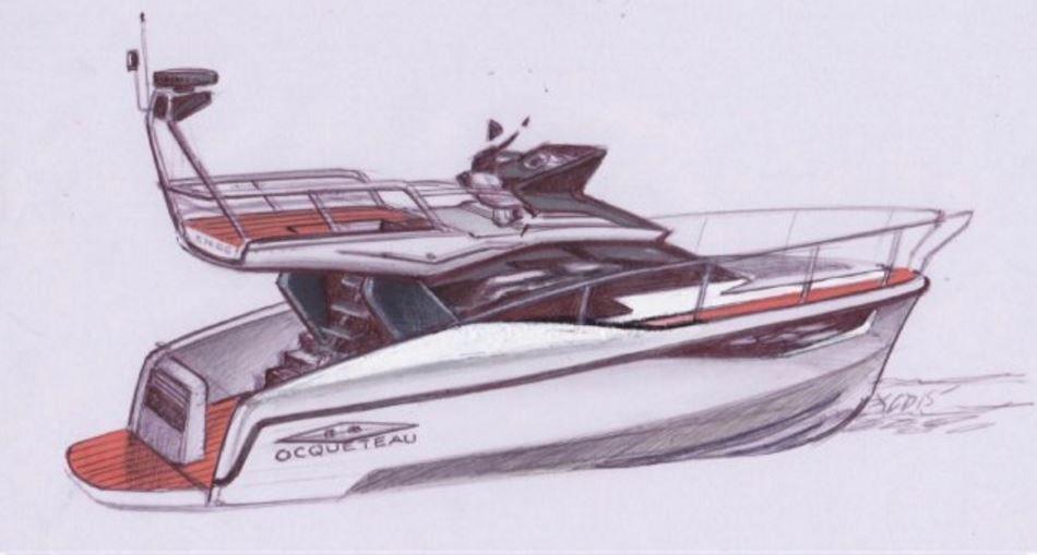 RC10, un designer automobile, pour la future vedette d'Ocqueteau