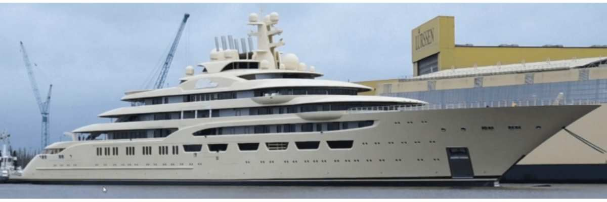 Dilbar (Project Omar), le superyacht qui bouleverse le TOP 5 des plus grands yachts du monde