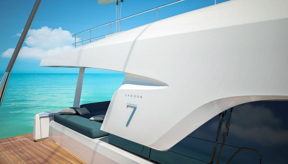 SCOOP - un cockpit avant pour le prochain catamaran Lagoon Seventy 7