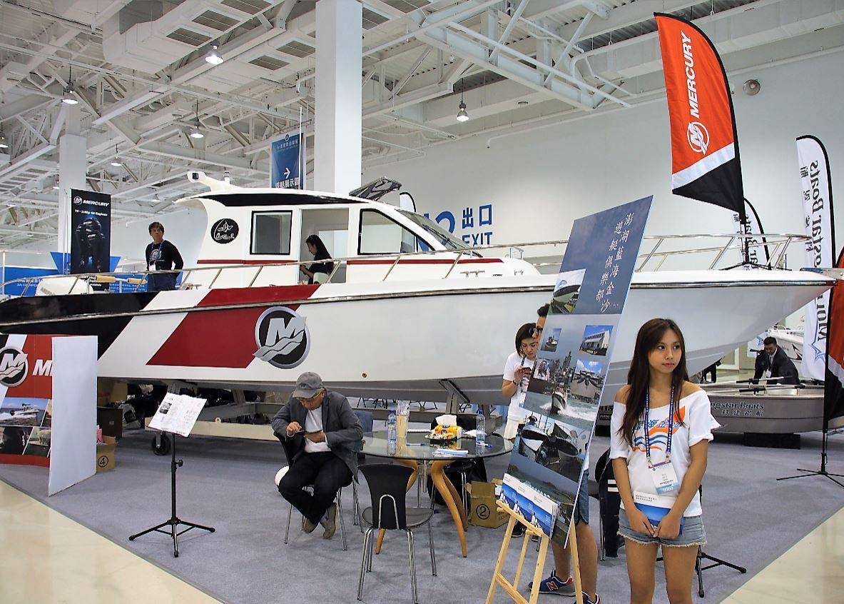 Au Taïwan Boat Show, Mercury Marine aux côté des révolutionnaires Morningstar Boats