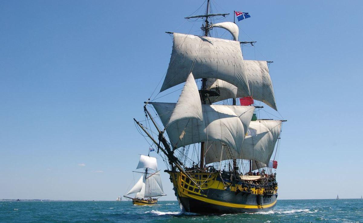 A Saint Malo, Wilfrid Provost prend la barre d'Étoile Marine Croisières